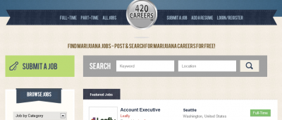420 Career Jobs Website